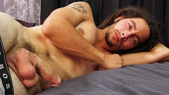 Hippie Jack Holden Pulls His Pud